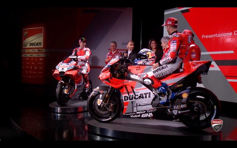 Présentation du Team Ducati MotoGP 2018 26850010