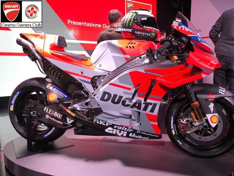 Présentation du Team Ducati MotoGP 2018 26907810