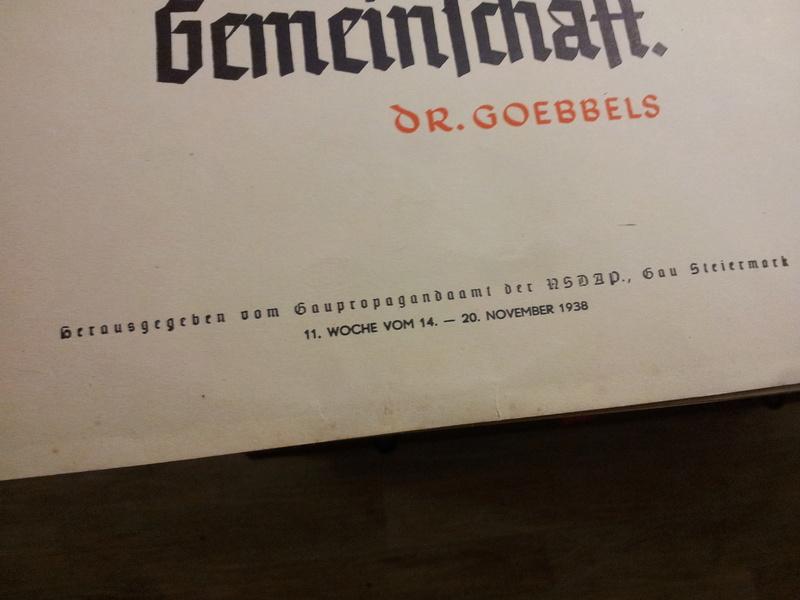 Set d'affichettes propagande Allemande  20180162