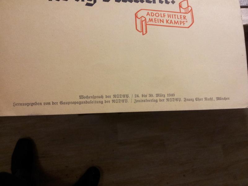 Set d'affichettes propagande Allemande  20180169
