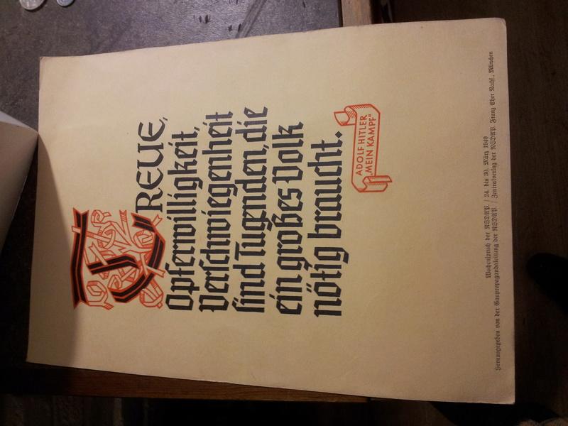 Set d'affichettes propagande Allemande  20180170