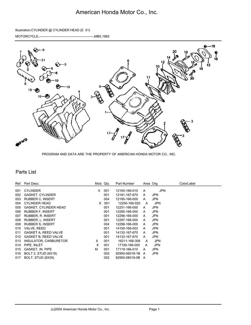 Honda MT 50 Mb5_pa10
