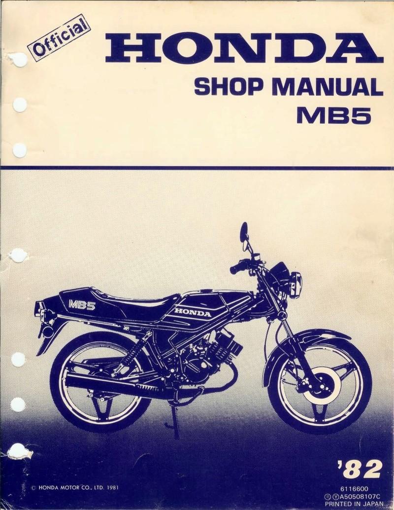 Honda MT 50 Mb5_sh10