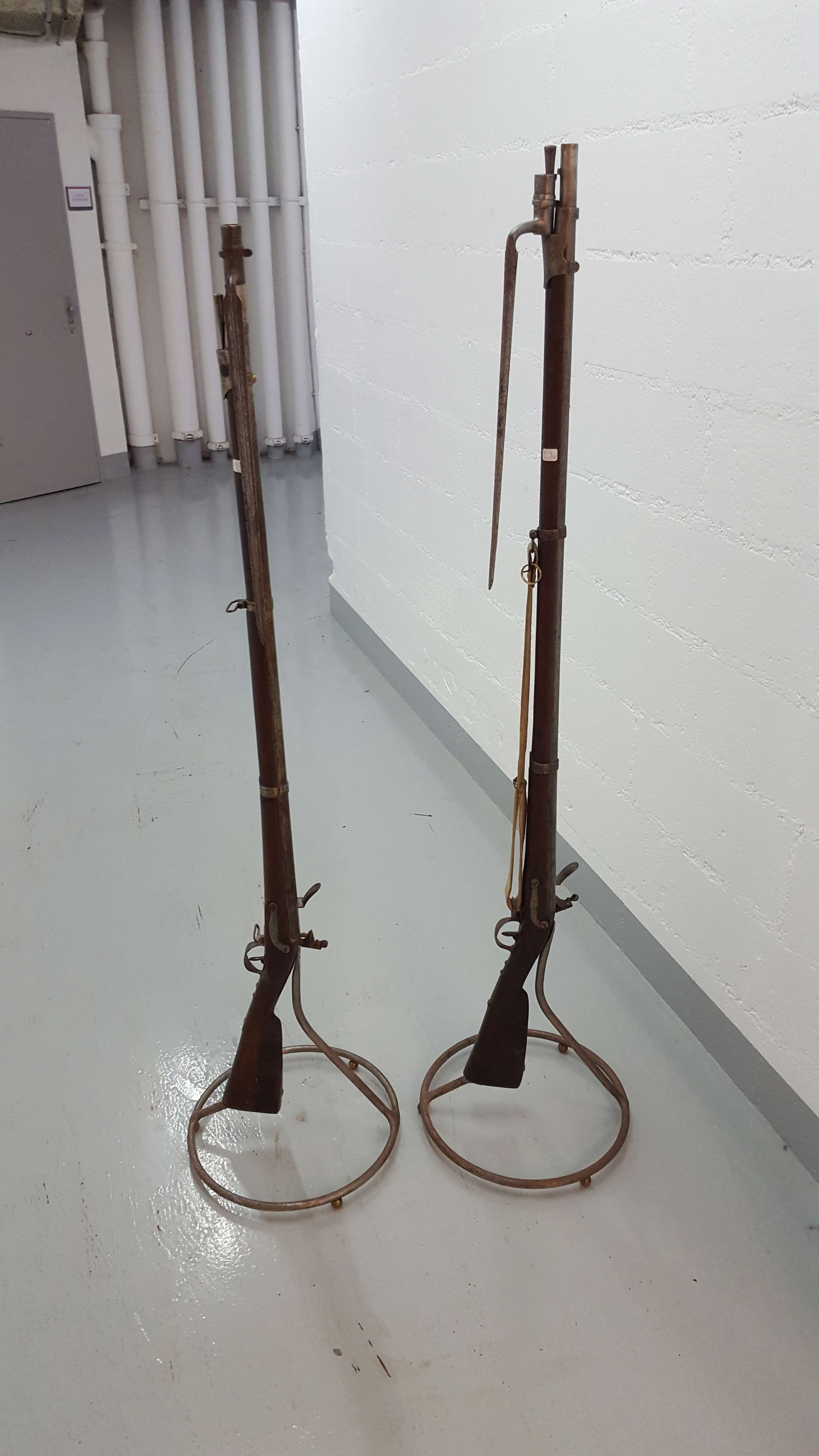 Sauvetage de 2 fusils an IX 20180513