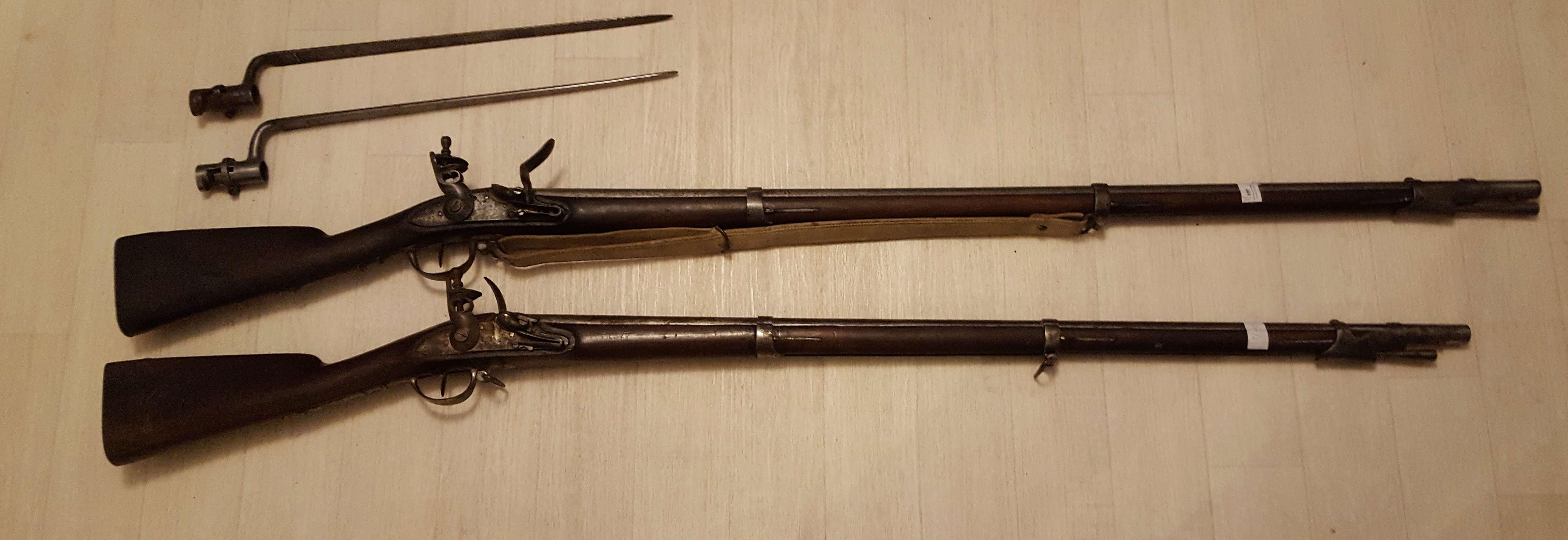 Sauvetage de 2 fusils an IX 20180514