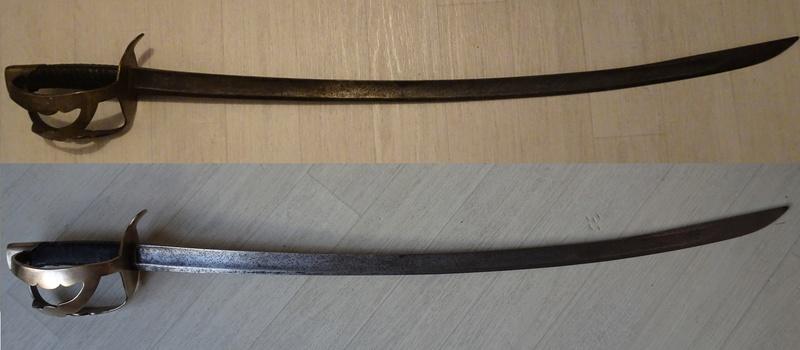 sabre de chasseur à cheval  Dsc01339