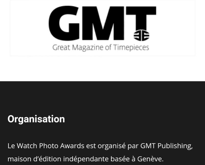 """Concours """"watch photo award"""" Screen25"""