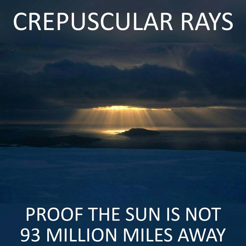 Proof the Sun is not 93 Million miles away 16602510