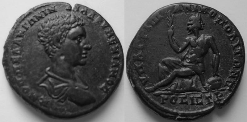 Bronze Diaduménien provinciale romaine Diad10