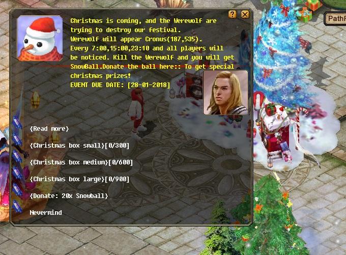 [EVENT] Christmas - Werewolf Attacks Xm210