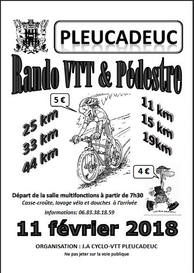 PLEUCADEUC : Rando VTT organisée 11 fev Pleuca10