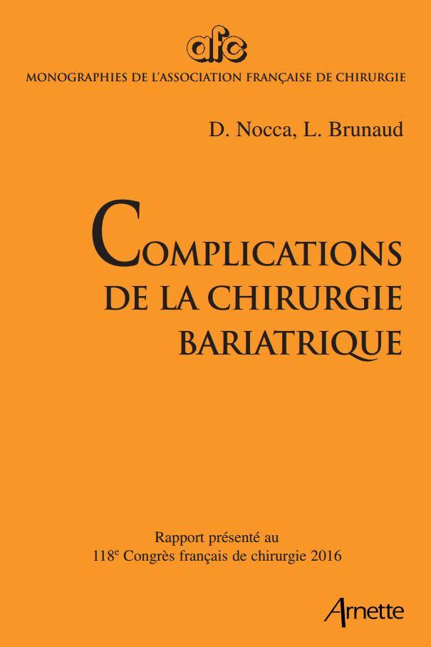 Télécharger gratuitement: COMPLICATIONS DE LA CHIRURGIE BARIATRIQUE  2016 Compli10