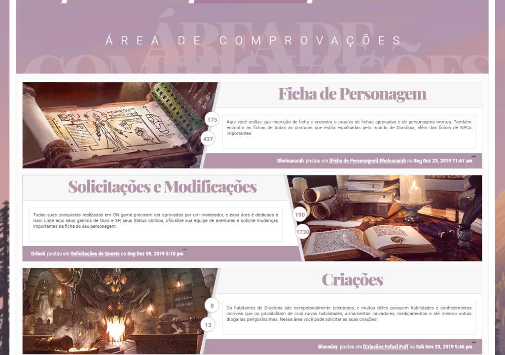 Categoria, fórum e sub-fórum personalizados Screen11