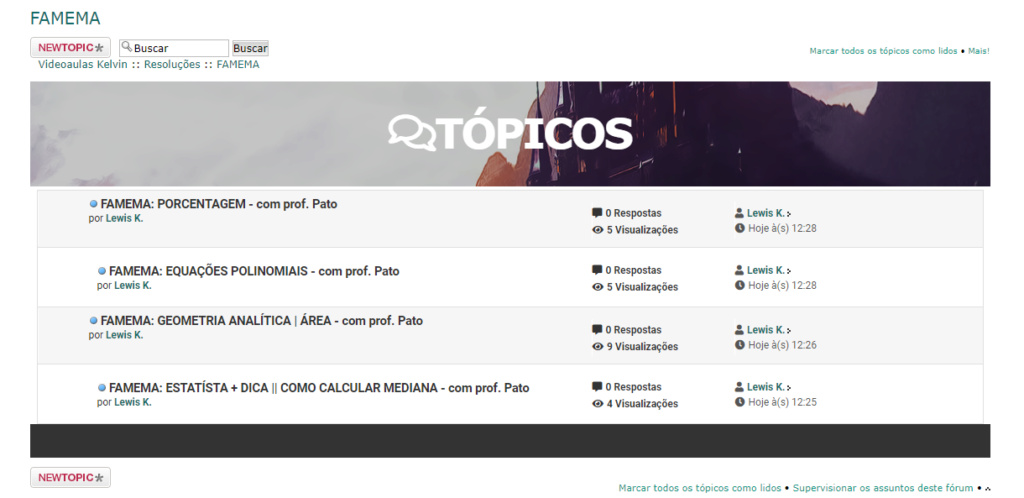 Tópicos personalizados Topico10