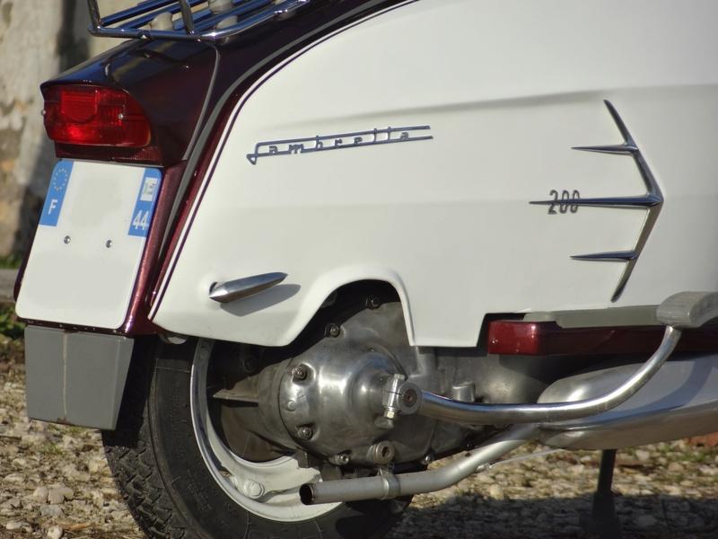 Lambretta SX200 replica project - Page 5 Dsc06910