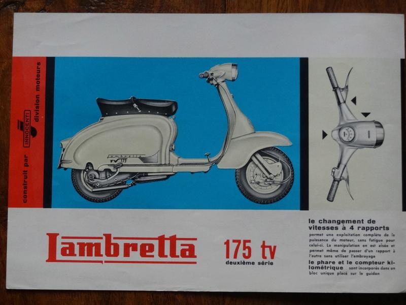 Dépliants publicitaires Lambretta  Dsc06917