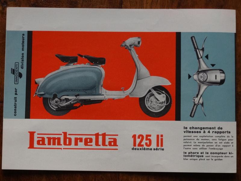 Dépliants publicitaires Lambretta  Dsc06921