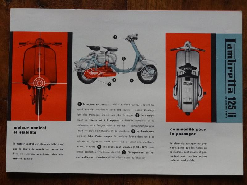 Dépliants publicitaires Lambretta  Dsc06922