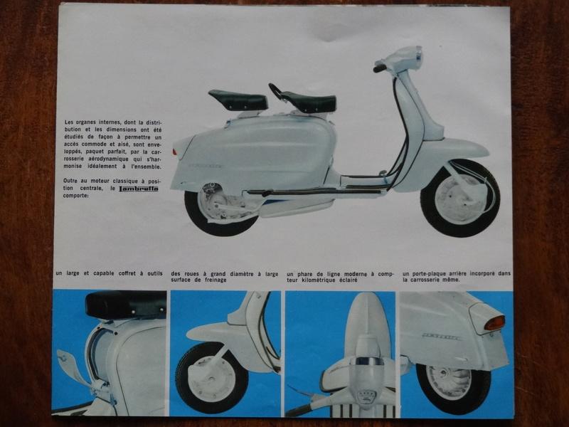Dépliants publicitaires Lambretta  Dsc06924