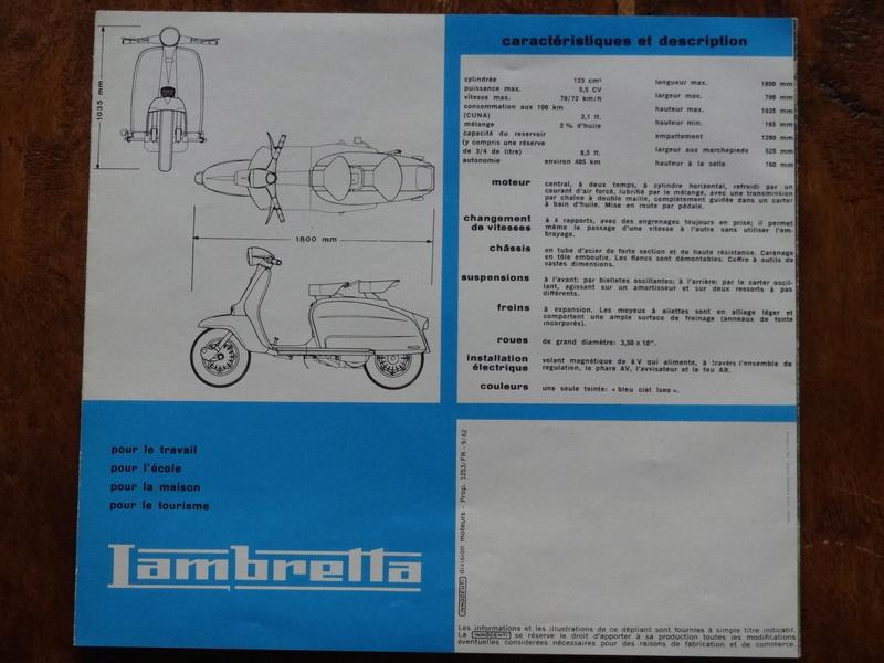 Dépliants publicitaires Lambretta  Dsc06925