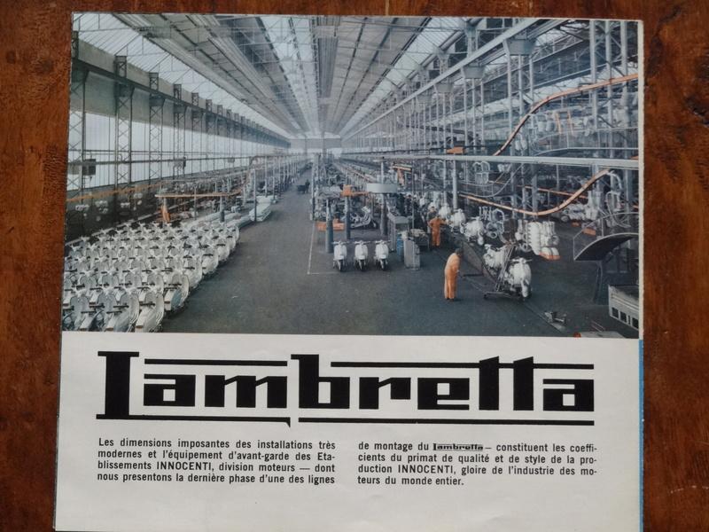 Dépliants publicitaires Lambretta  Dsc06928