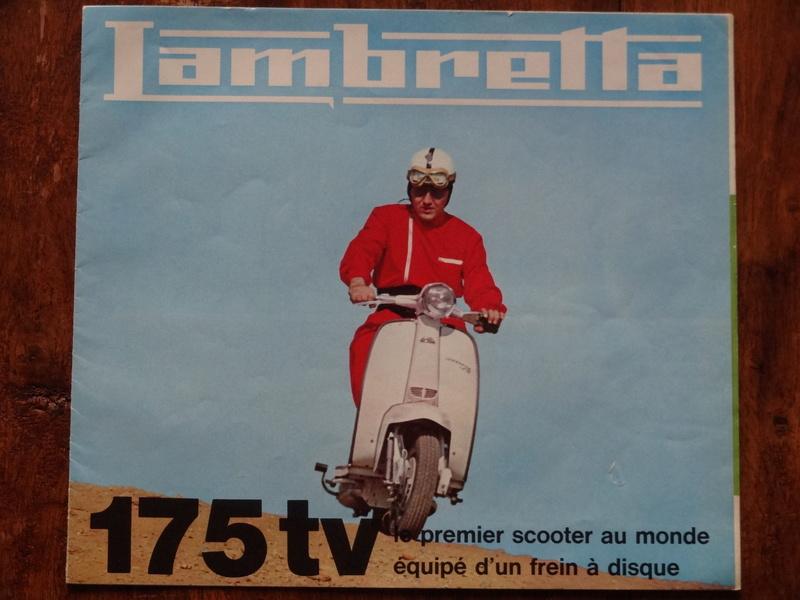 Dépliants publicitaires Lambretta  Dsc06931