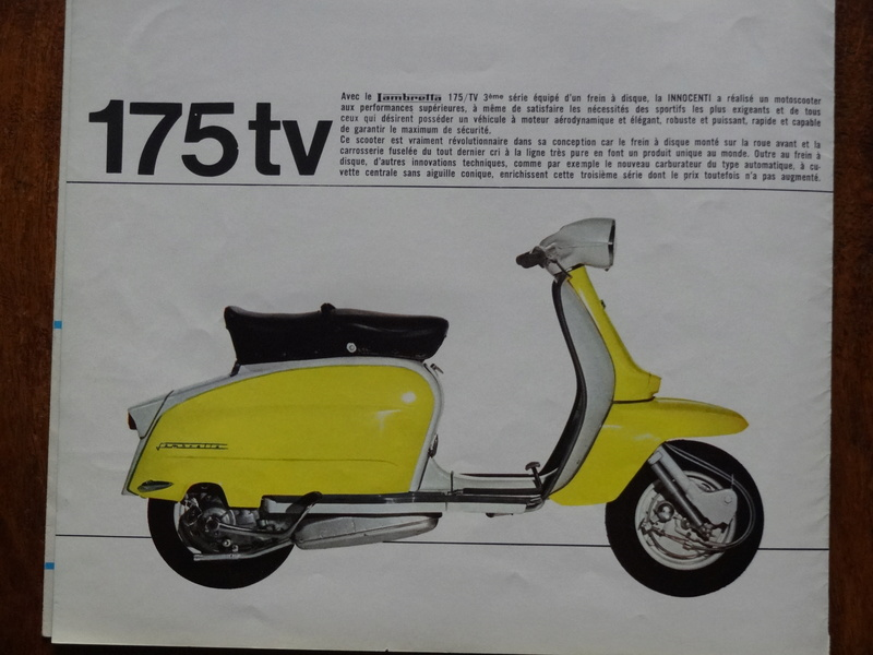 Dépliants publicitaires Lambretta  Dsc06933