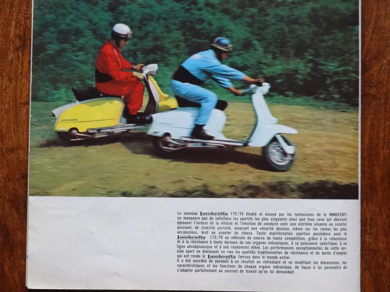 Dépliants publicitaires Lambretta  Dsc06936