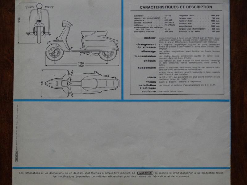 Dépliants publicitaires Lambretta  Dsc06937