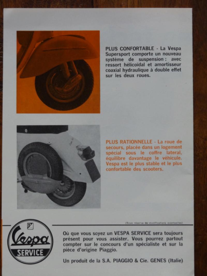 Dépliants publicitaires Vespa  Dsc06939