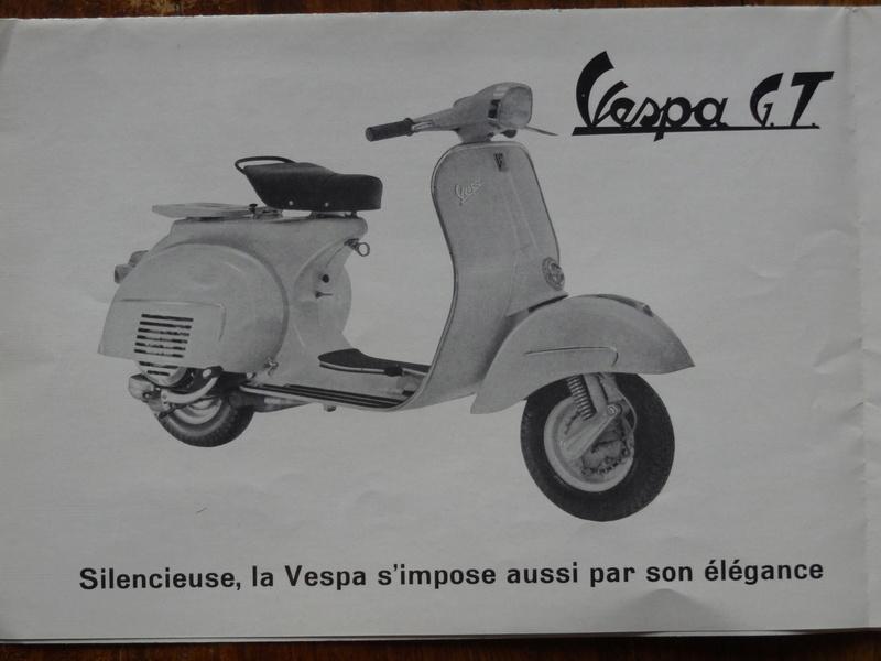 Dépliants publicitaires Vespa  Dsc06944