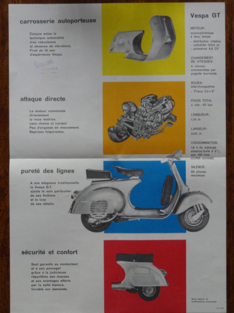Dépliants publicitaires Vespa  Dsc06945