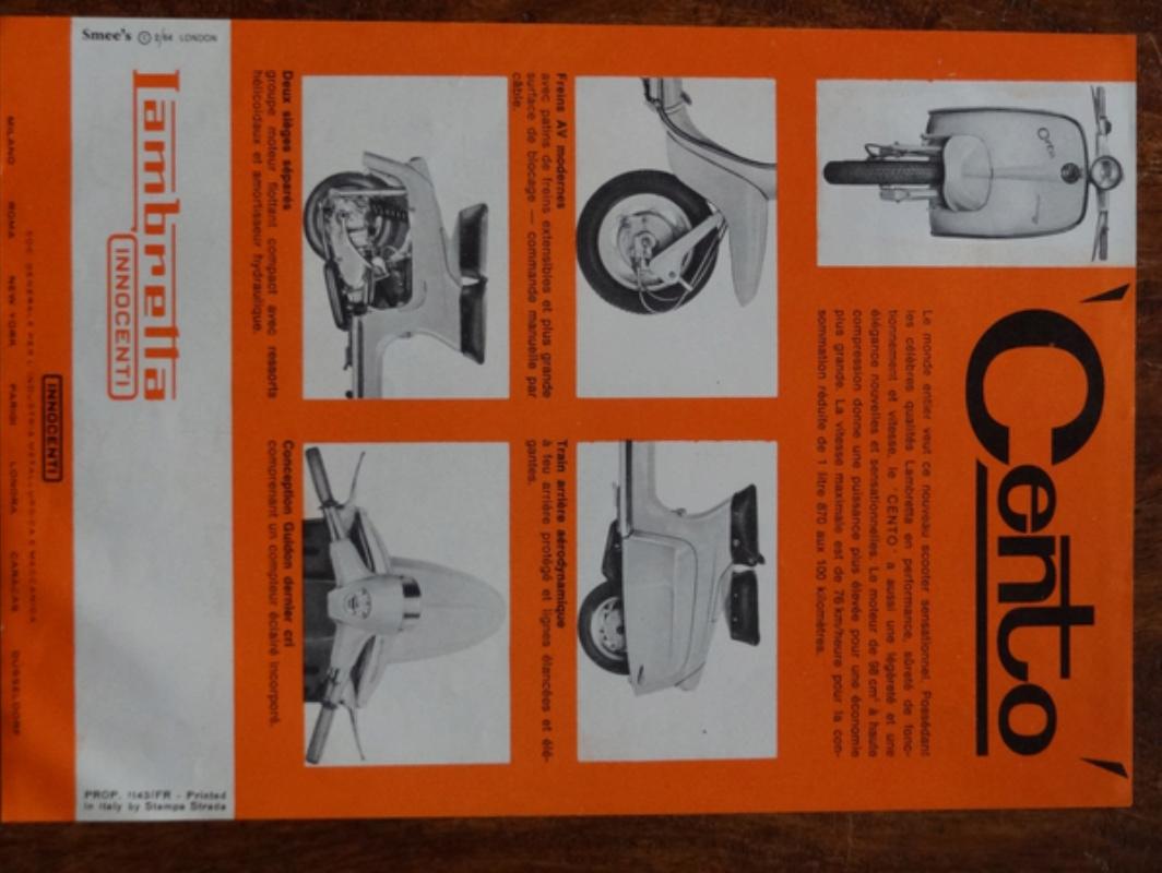 Dépliants publicitaires Lambretta  Dsc06958