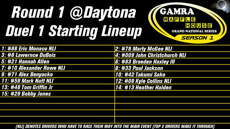 Season 1, Round 1: Daytona Round_11