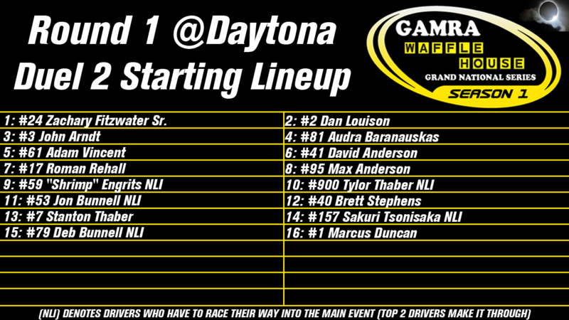 Season 1, Round 1: Daytona Round_12