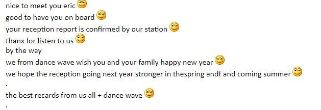 email de radio DANCE WAVE Dw210