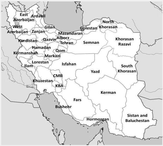 listes des émetteurs MW en Iran Iran_m10