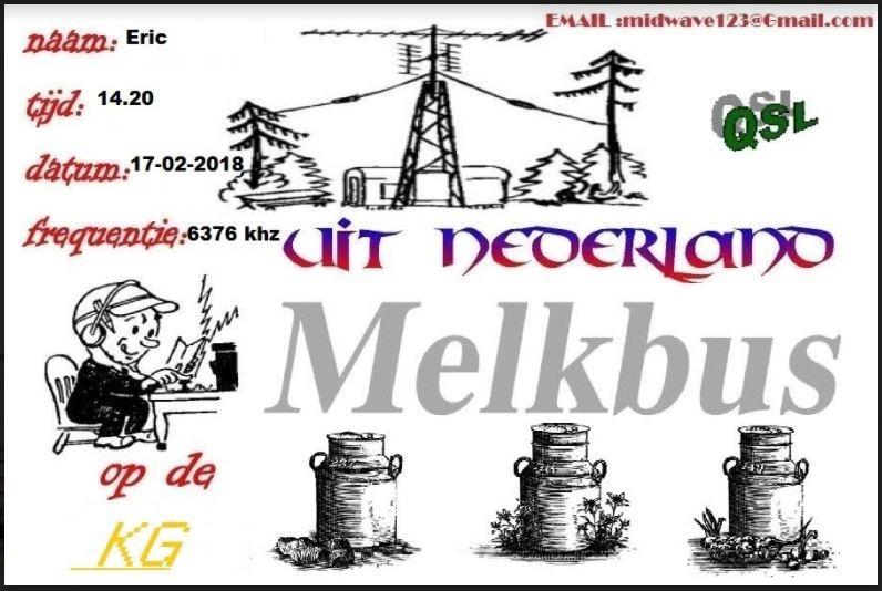 eqsl de radio MELKBUS Melk10