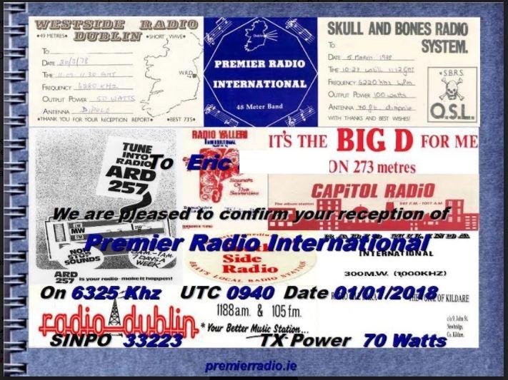 eQSL de premier radio Premie11