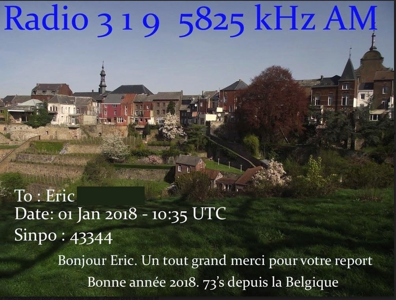 eQSL de radio 319 Radio_10