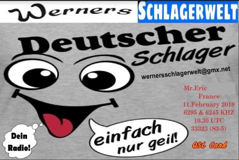 eQSL de Werner's Schlagerwelt Shlag10