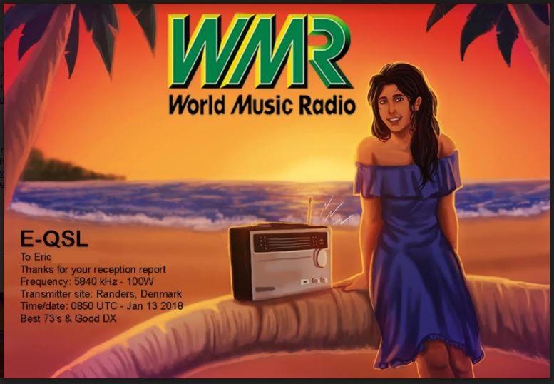 eQSL de WMR - danemark Wmr10