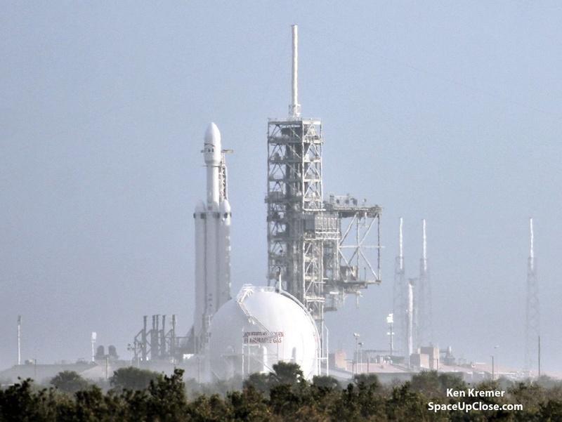 Falcon-9 (SES 16/GovSat 1) - 31.01.2018 [Succès] 1100