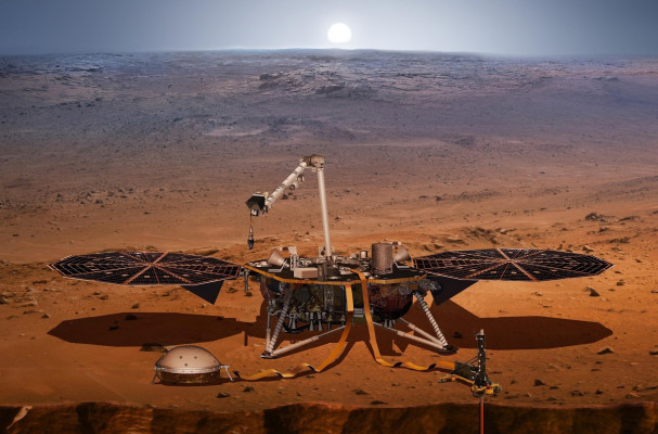 InSight - Mission d'exploration sur Mars 1211