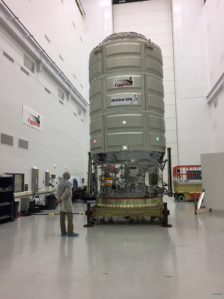 Antares 230 (Cygnus OA-8) - 12.11.2017 [Succès] 124