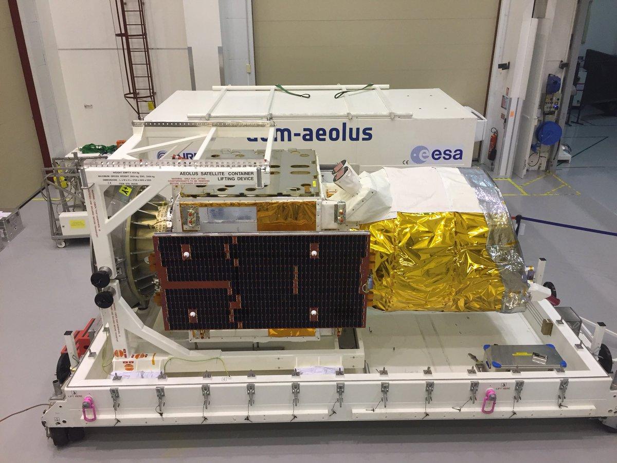 Vega VV12 (ADM-Aeolus) - 22.8.2018 1255