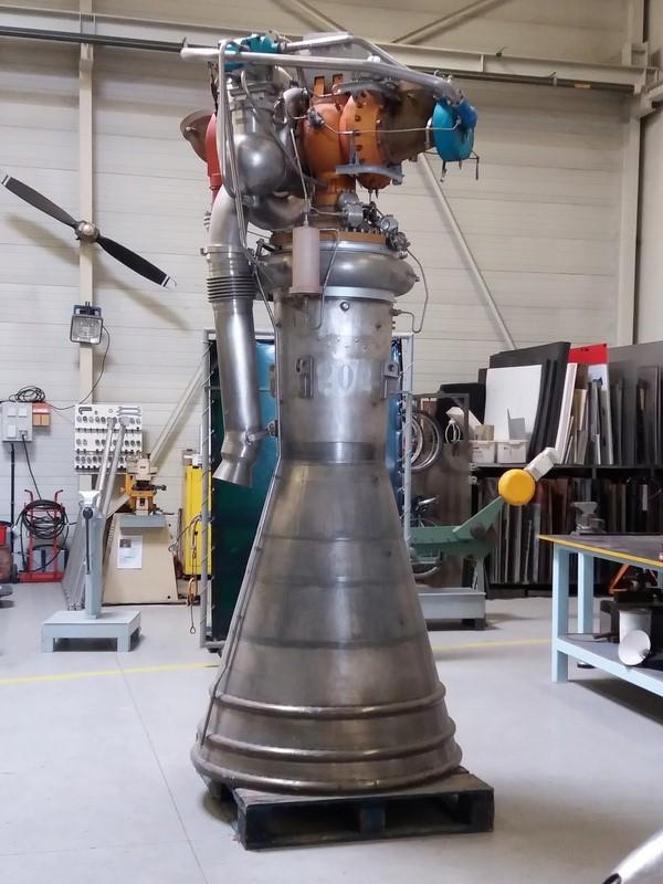 Moteur Viking des premières Ariane 128