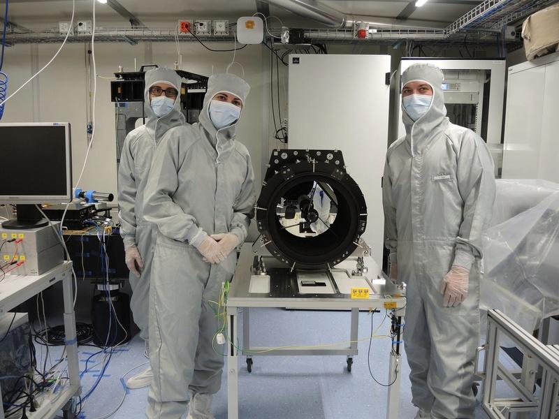 CHEOPS - Mission du télescope d'études d'exoplanètes 162