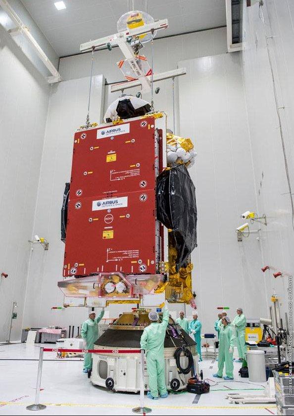 Ariane 5 ECA VA241 (Al Yah 3 + SES-14) - 25.1.2018 [Anomalie] 180