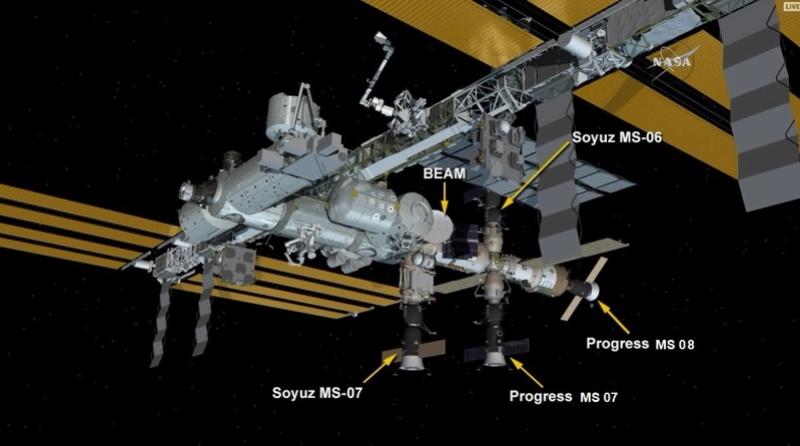 Soyouz-2.1a (Progress MS-08) - 13.02.2018 - Page 3 Iss10